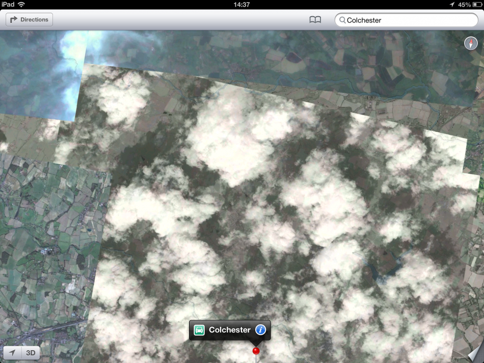 iOS 6 Maps fail
