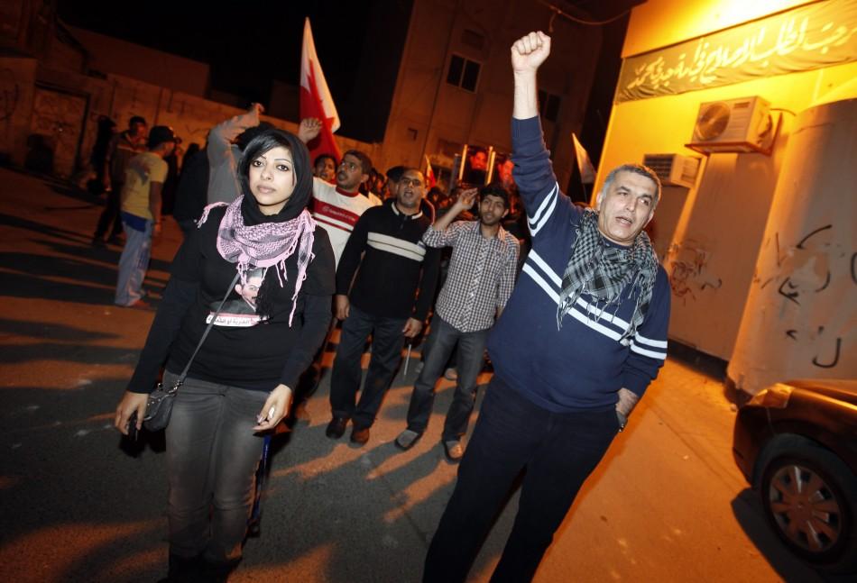 Zainab al-Khawaja, daughter of human rights activist Abdulhadi al-Khawaja