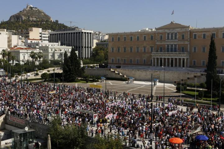 Athens 24-hour strike