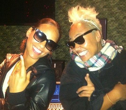 Alica Keys and Emeli Sande