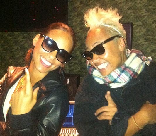 Alica Keys and Emeli Sande