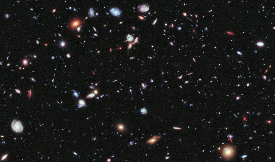 Universe: A portion of latest image