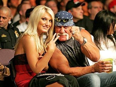 Hulk and Brooke Hogan