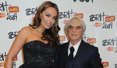 Bernie Ecclestone and Tamara
