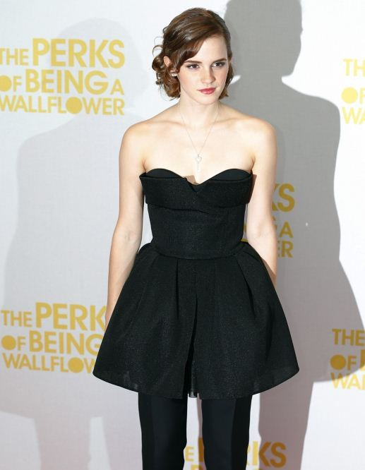 Cast member Emma Watson arrives for the gala screening of her film