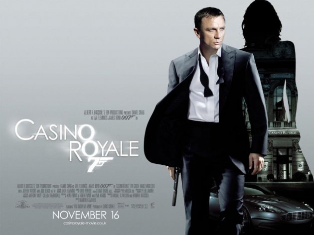 Casino Royale teaser poster. Fifty objects used in several James Bond films are to be auctioned to mark 50 years of the British spy film series. (Photo: James Bond 007/Official Facebook)