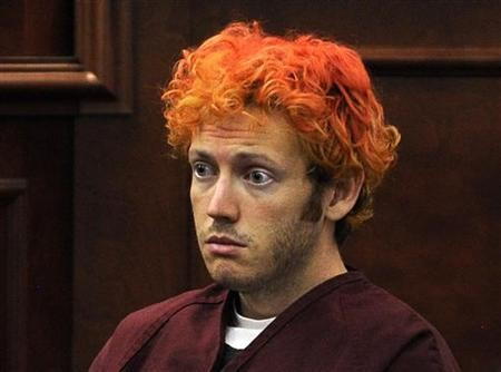 James Holmes is accused of killing 12 people and injuring more than 50 (Reuters)