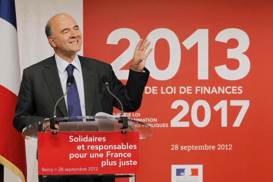 France's Finance Minister Moscovici