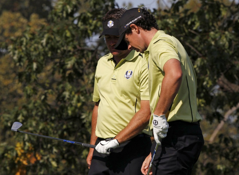 Graeme McDowell and Rory McIlroy