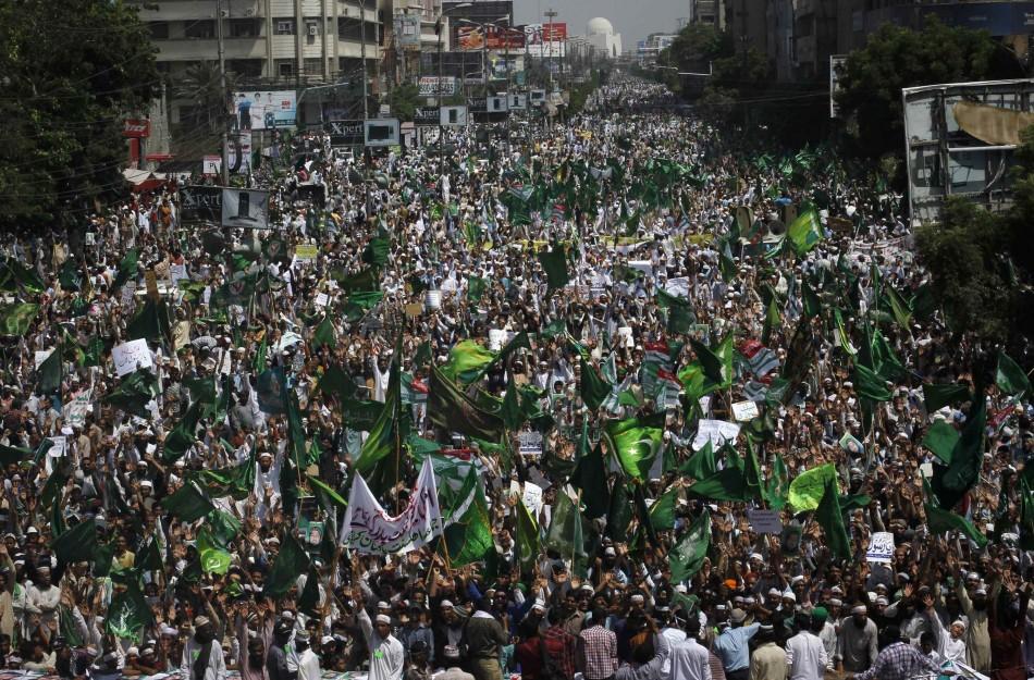 Pakistan Karachi protests