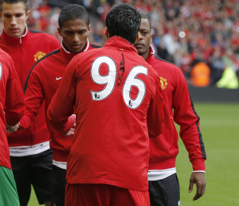 The Patrice Evra - Luis Suarez Incident