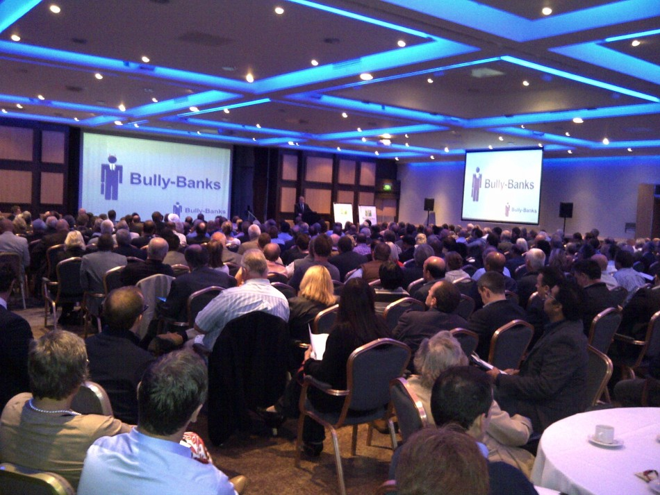 Bully-Banks conference attended by over 400 businesses (Photo: Bully-Banks)