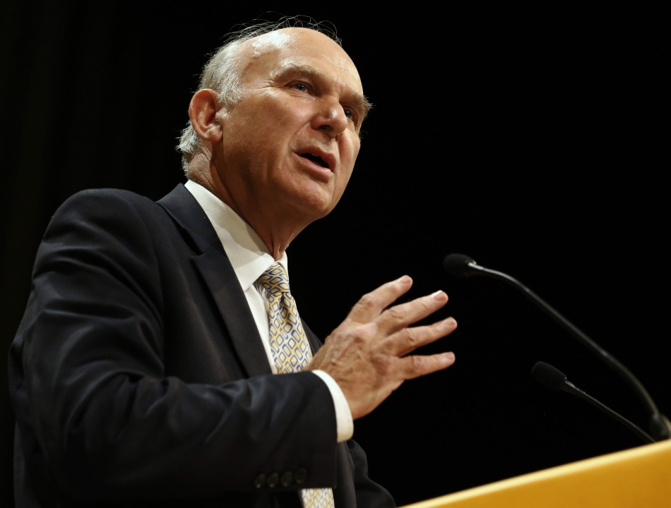 UK business secretary Vince Cable (Photo: Reuters)