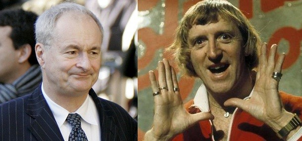 Paul Gambaccini (L) told Daybreak he has been waiting 30 years for the allegations about Sir Jimmy Savile to come out (Reuters/BBC)
