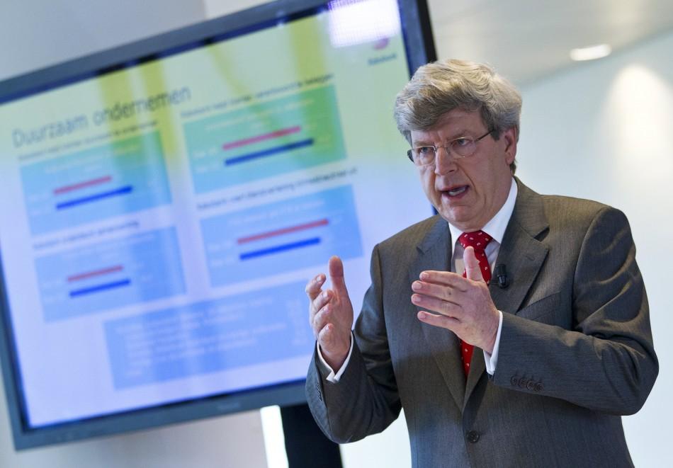 Rabobank CEO Piet Moerland (Photo: Reuters)