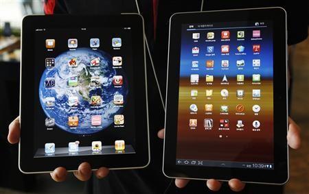 iPad vs Galaxy Tab 10.1