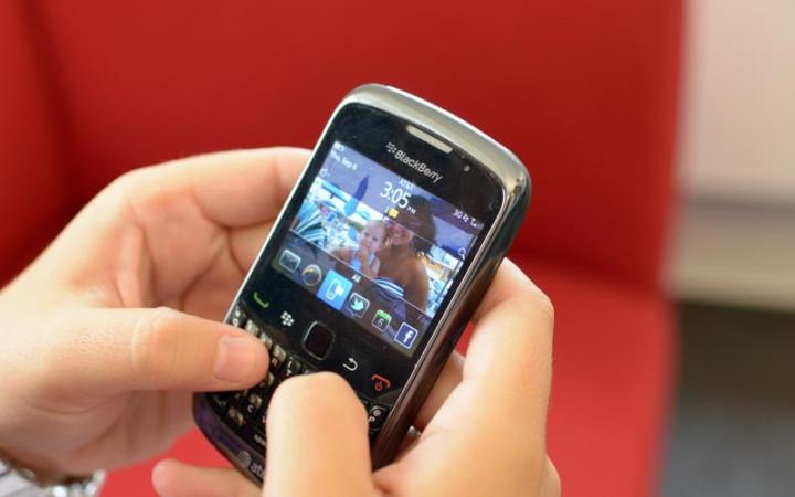 BlackBerry brand tumbles
