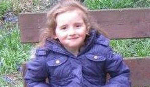 April Jones was last seen wearing a purple jacket near her home (Dyfed Powys Police)