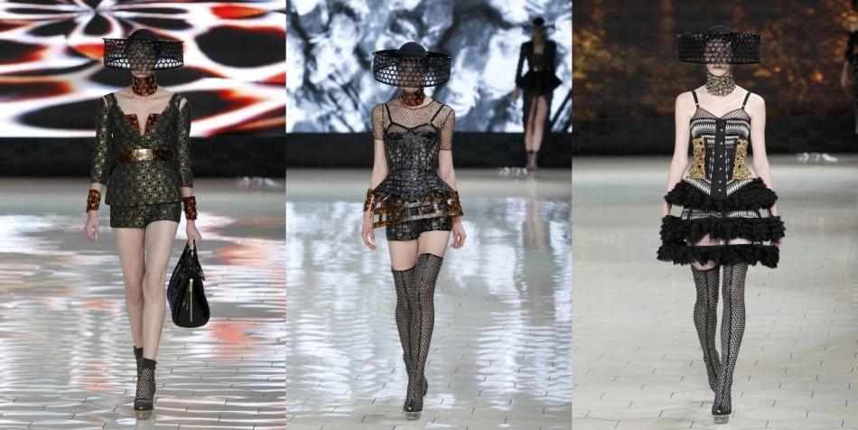 Paris Fashion Week 2012 Sarah Burtons Alexander McQueen Collection