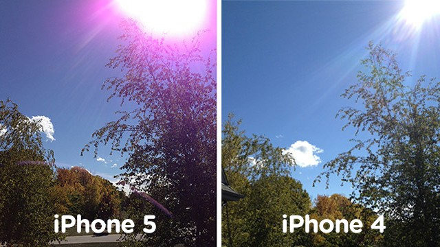 Apple Responds to iPhone 5 Camera's Purple Flare Issue