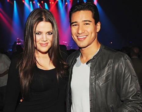 Khloe Kardashian and Mario Lopez