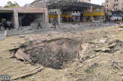 Aleppo blasts