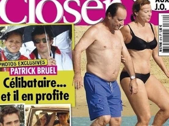 Bikini closer magazine royal segolene