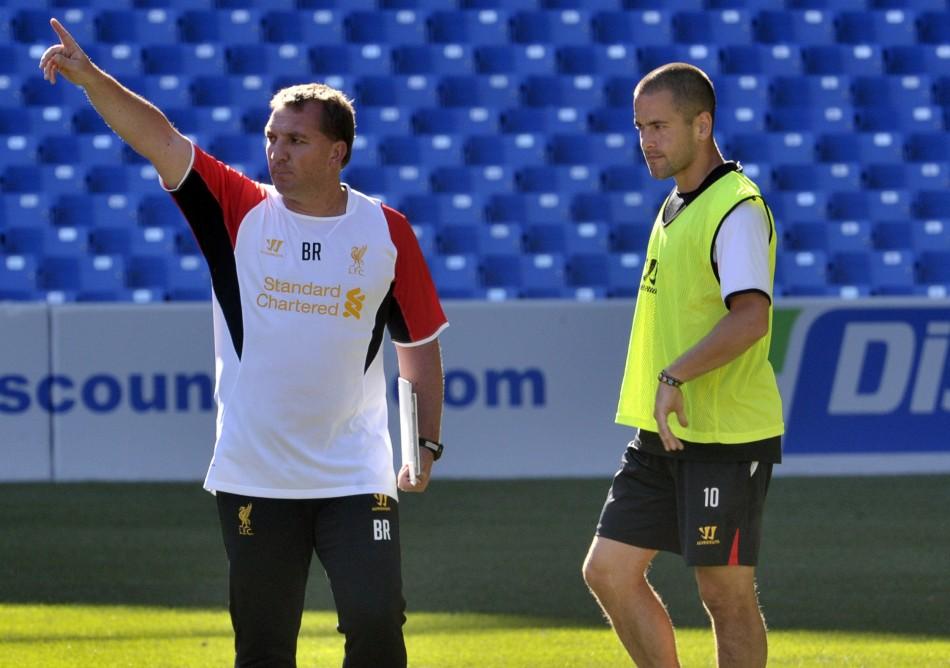 Brendan Rodgers and Joe Cole