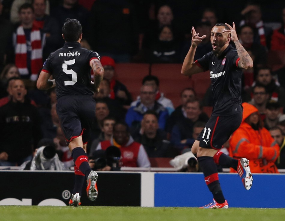 Arsenal 1-1 Olympiakos