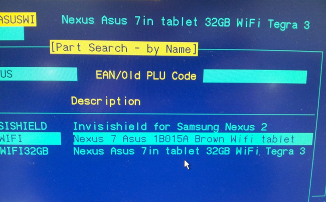 Galaxy Nexus 2 and 32GB Variant of Nexus 7 Surfaces in Database Listing