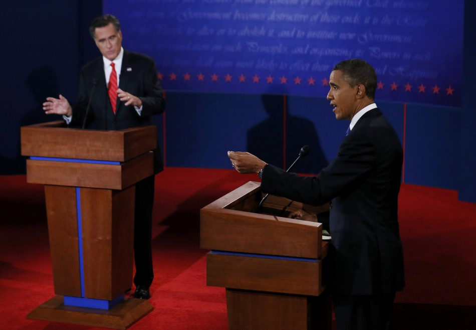US Presidential Debate 2012