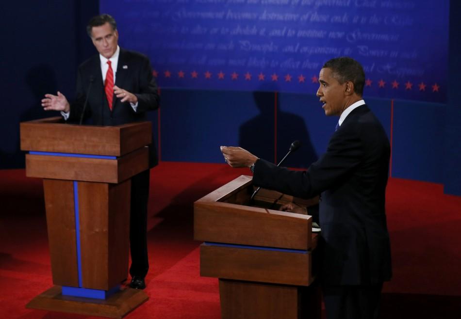US Presidential Debate 2012