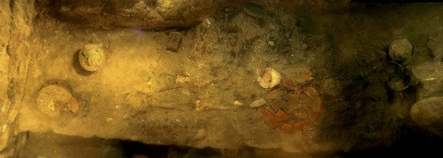 The royal tomb of the Mayan Queen Kalomt'e K'abel (Photo: REUTERS)