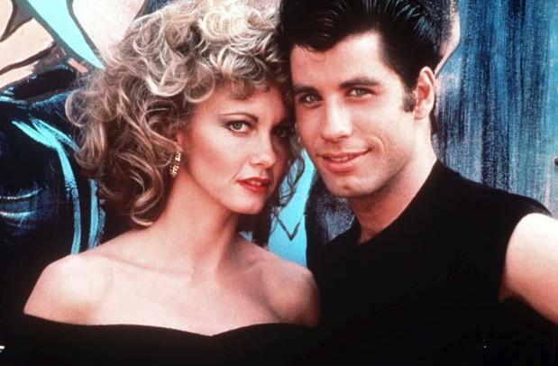 Grease Stars Olivia Newton John And John Travolta To