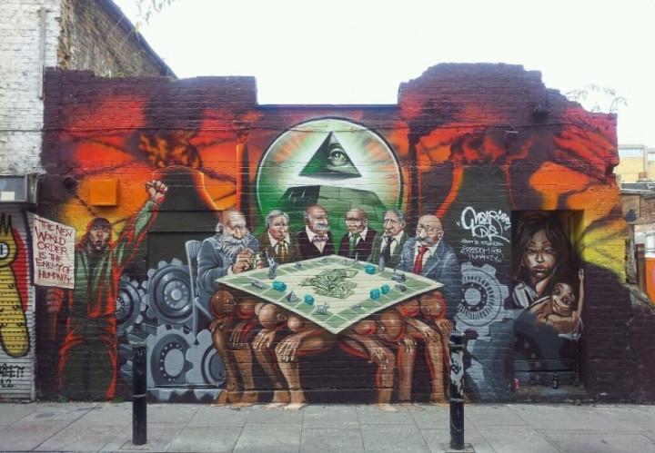 Brick Lane mural