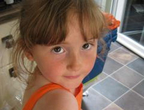 Missing five-year-old April Jones (Dyfed-Powys Police)