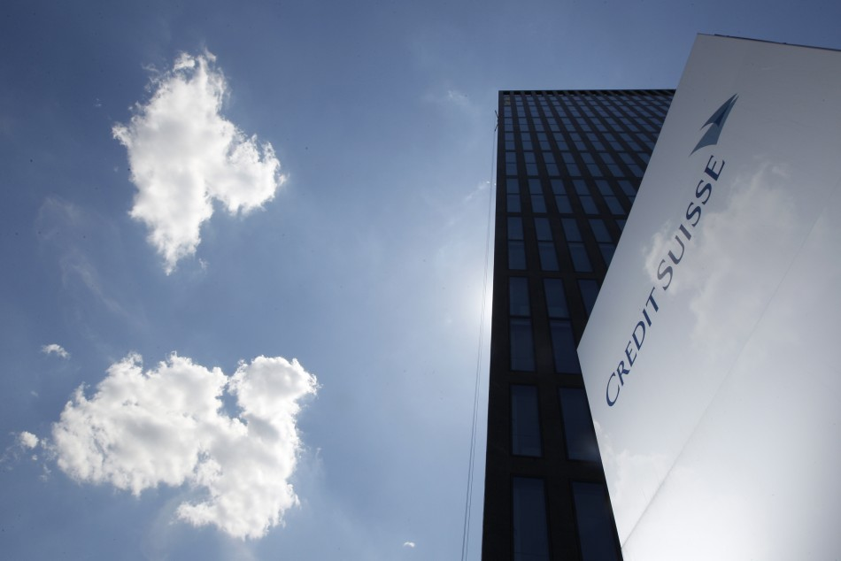 A logo is seen in front of a Credit Suisse building in Zurich (Photo: Reuters)