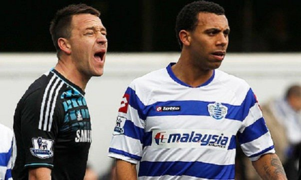 John Terry and Anton Ferdinand