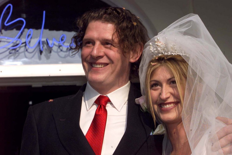 Marco Pierre White and Matilde Conejero