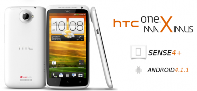 HTC One X Gets Android 4.1 Jelly Bean Update with One Maximus ROM [How to Install]