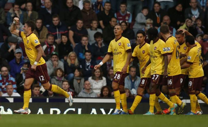 West Ham v Arsenal