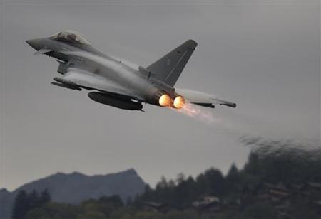 BAE fighter jet