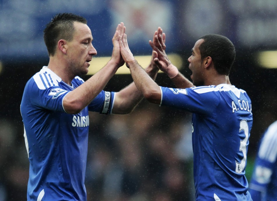 John Terry and Ashley Cole