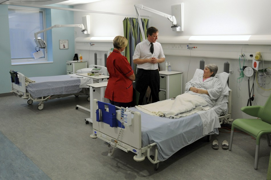 Patients starving on NHS wards
