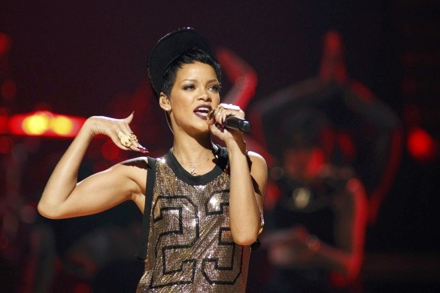 Rihanna performs during the 2012 iHeart Radio Music Festival in Las Vegas, 22 September. (Photo: REUTERS)