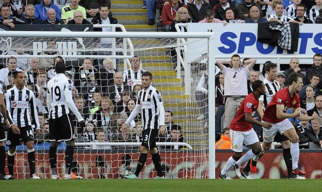 Newcastle v Manchester United