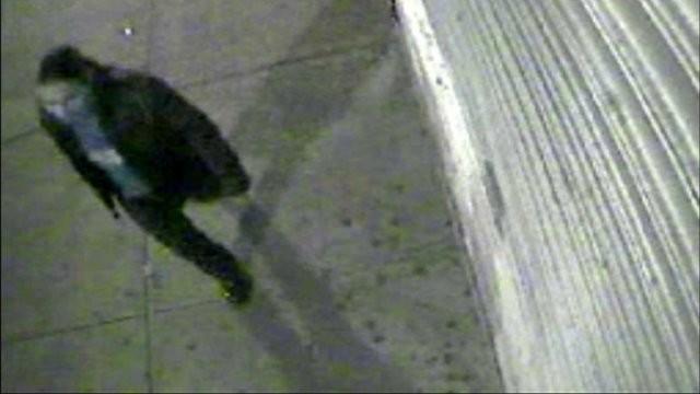 Jones on CCTV before attack