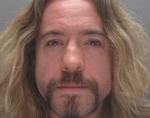 Justin Lee Collins denied the charges of harassment causing fear of violence (Hertfordshire Police)
