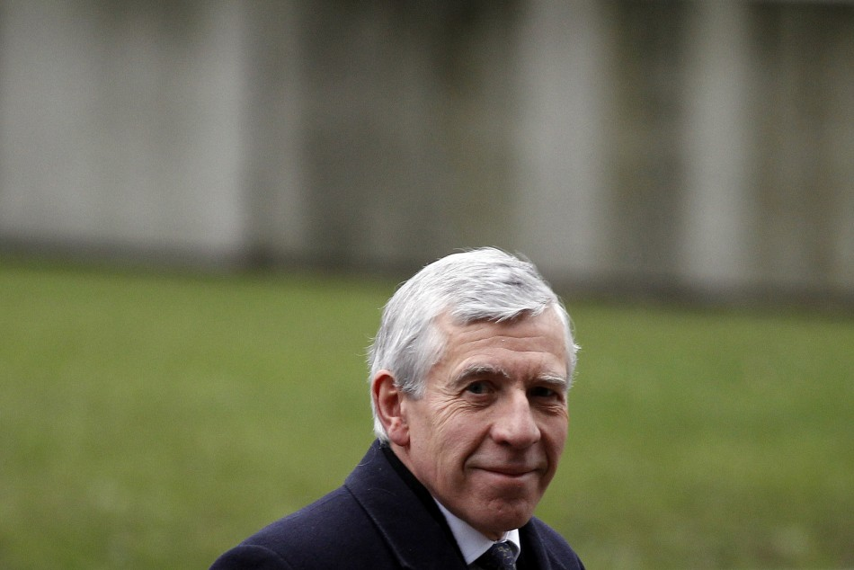 Britain's former foreign minister Jack Straw