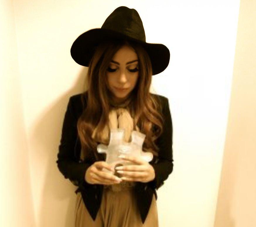 Me and my LennonOno Peace Prize: Lady Gaga